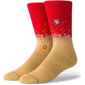 STANCE San Francisco 49ERS Crew Sock